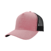 Summit 5 Panel Trucker - F21501 - dusty-pink