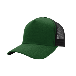 TwentyFour Store F21501-5 Panel green Cap