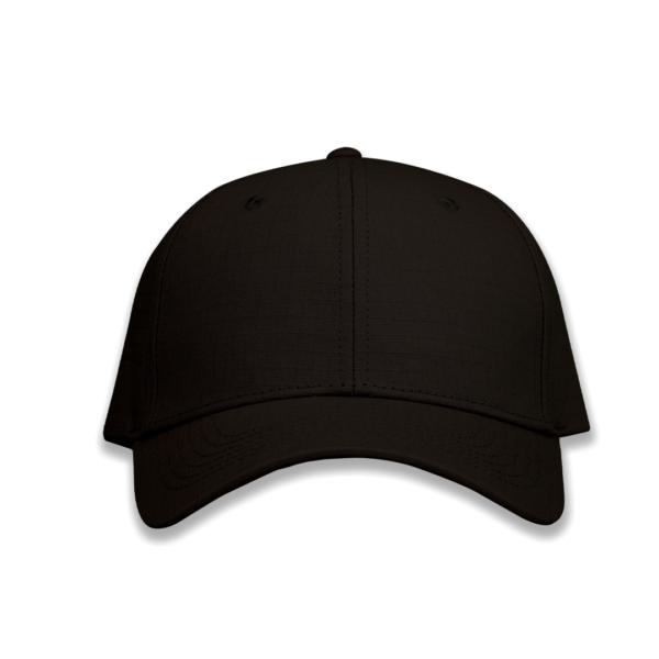 TwentyFour Store RipStop Light black Cap Front